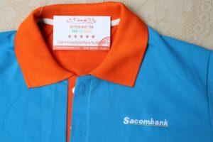 áo thun công ty ngân hàng sacombank