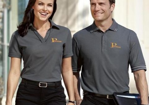 t áo thun công ty kết hợp in logo lên áo chất lượng