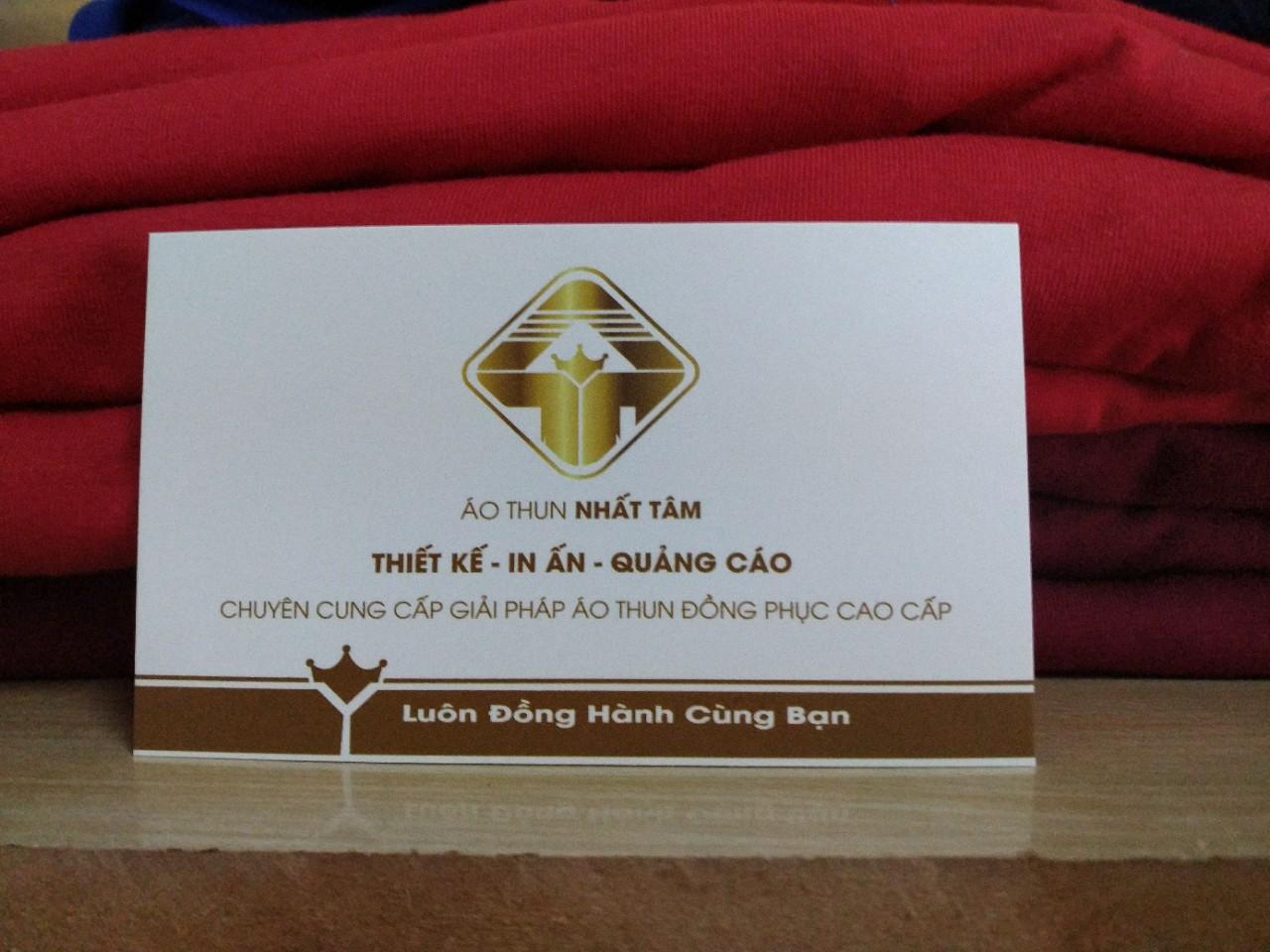 In áo thun số lượng ít tại Áo Thun Nhất Tâm