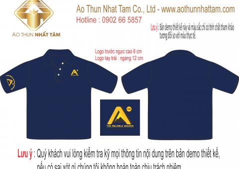 Những vị trí in logo lên áo bắt mắt ấn tượng