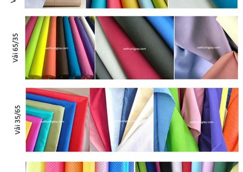 Chọn chất liệu vải
