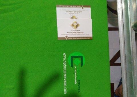 Đặt áo thun công ty kết hợp in hình