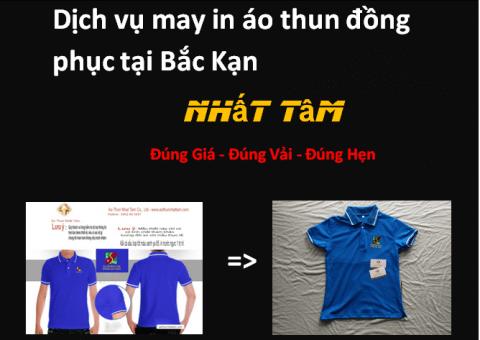 Dịch vụ may in áo thun đồng phục tại Bắc Kạn