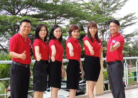 Dịch vụ may in áo thun đồng phục tại quận 1