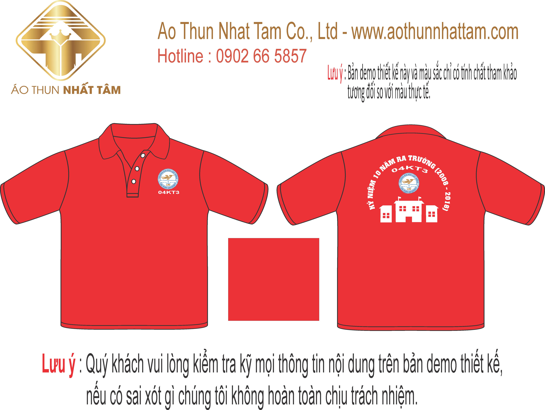 Thiết kế áo thun lớp