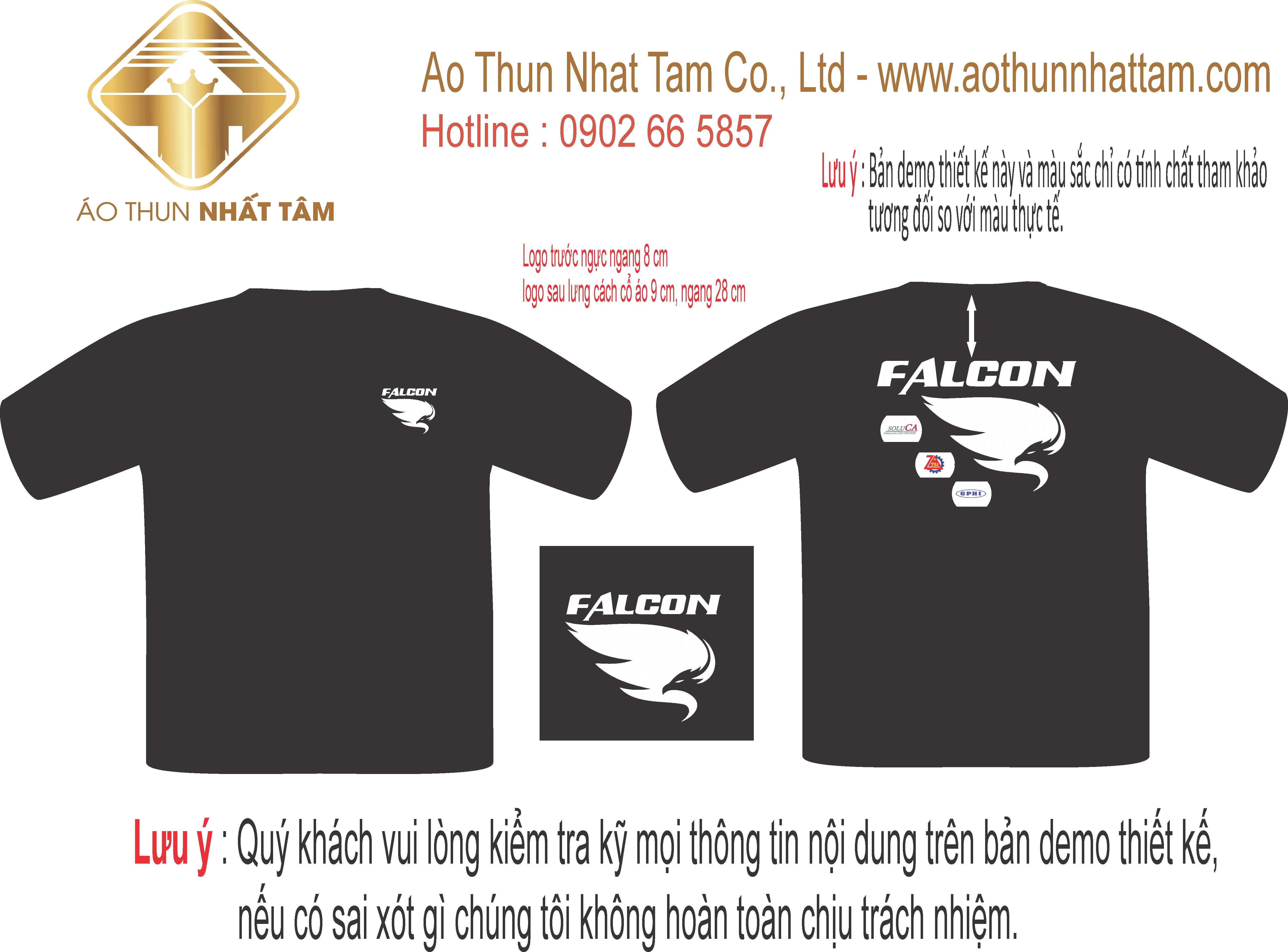 Thiết kế áo công ty FaCon