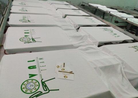 Xưởng may áo thun cotton