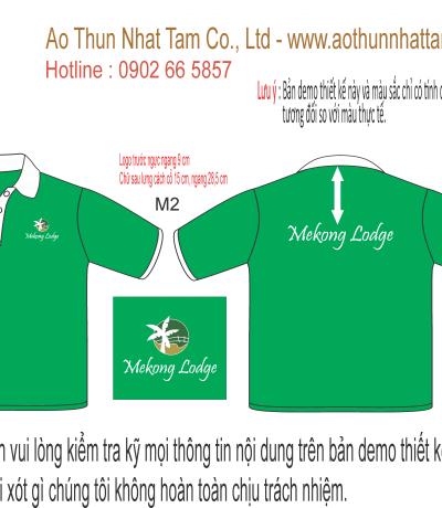 Thiết kế áo thun mekong